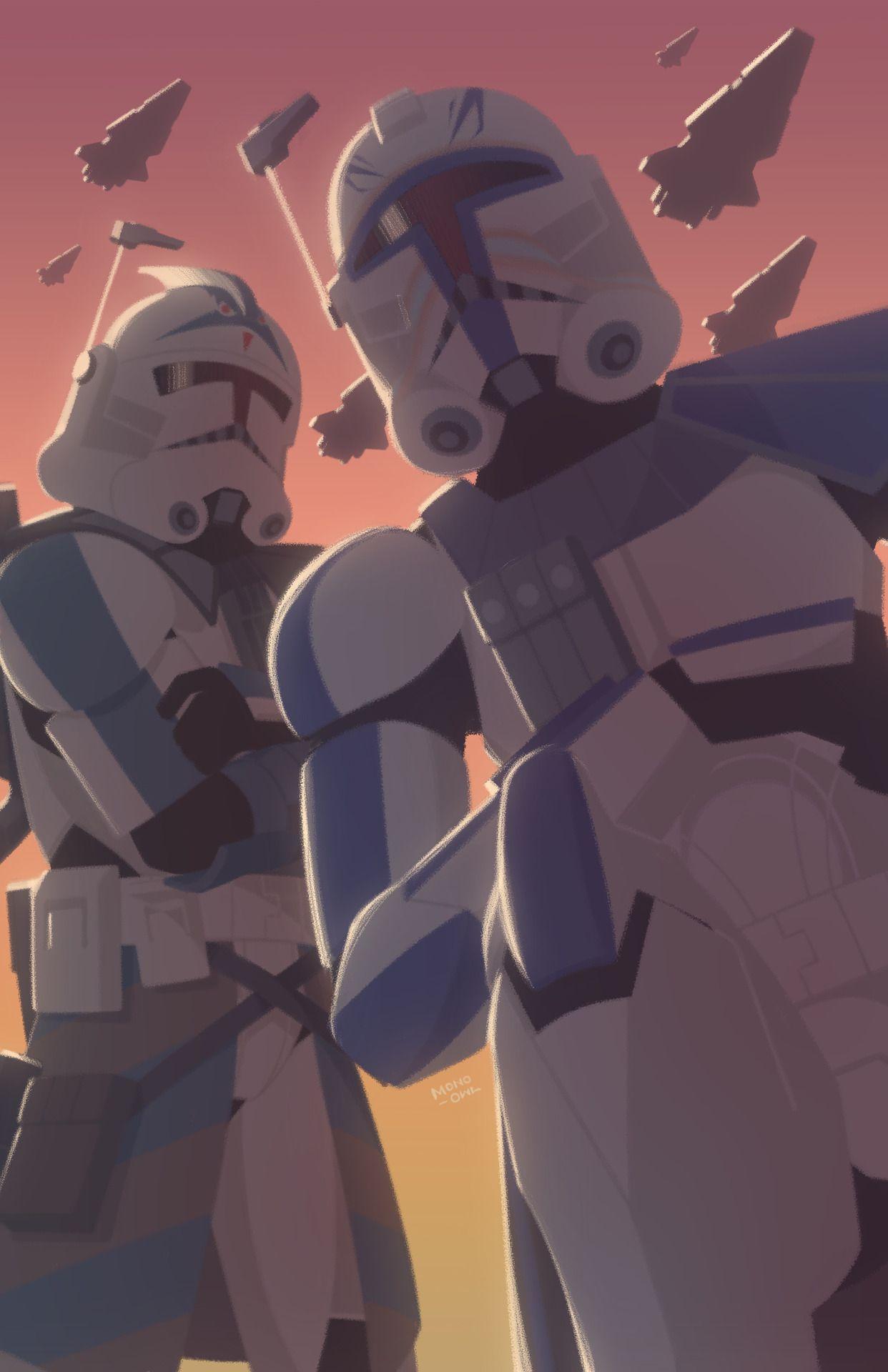 Pin By Tatzumie On I Love Stwrs Clone Wars Art Star Wars Art Star Wars Background