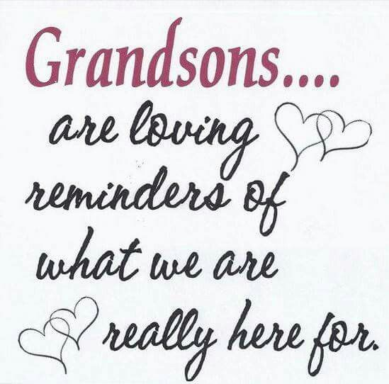 Grandsons Are Loving Reminders Of What We Are Really Here