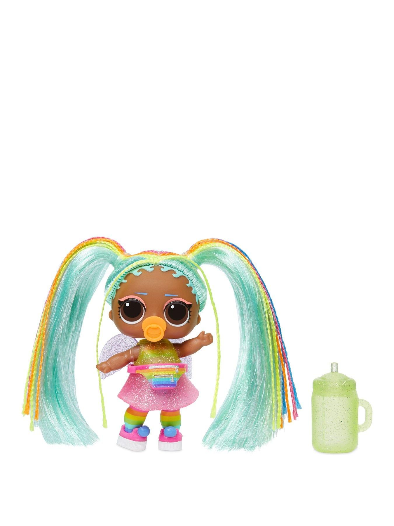 bb Baby #HairGoals Wave 2 Rainbow Hair Toy Real LOL Surprise Dolls VALLEY B.B