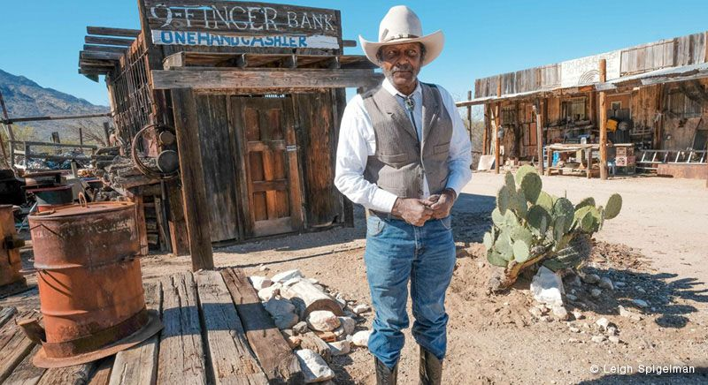 Near Tucson, a ranch called Keeylocko pairs wacky with the Wild West