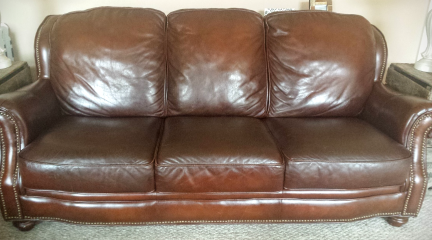 How To Make A Leather Couch Look New Again Conditioning Leather