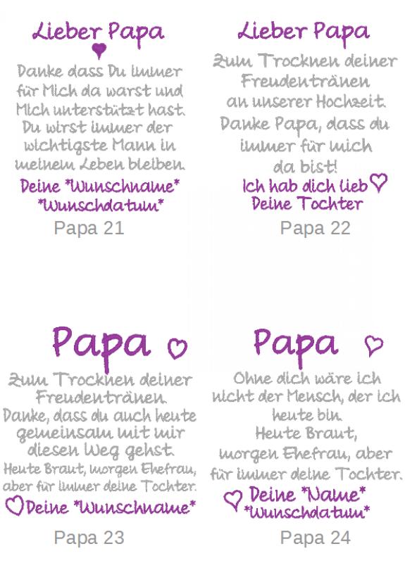 Besticktes Taschentuch Papa Taschentucher Hochzeit Taschentucher Geschenke Kaufen