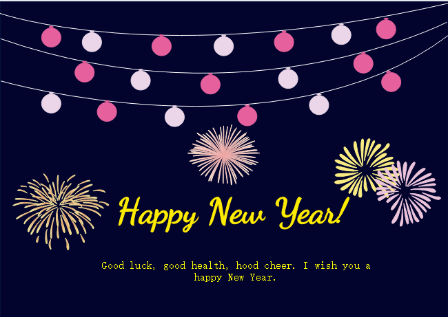 Does The Lights New Year Card Template Bring You Joy Get Started With This Template To Gains Inspirations On Decorative Ele New Year Card Cards Card Templates
