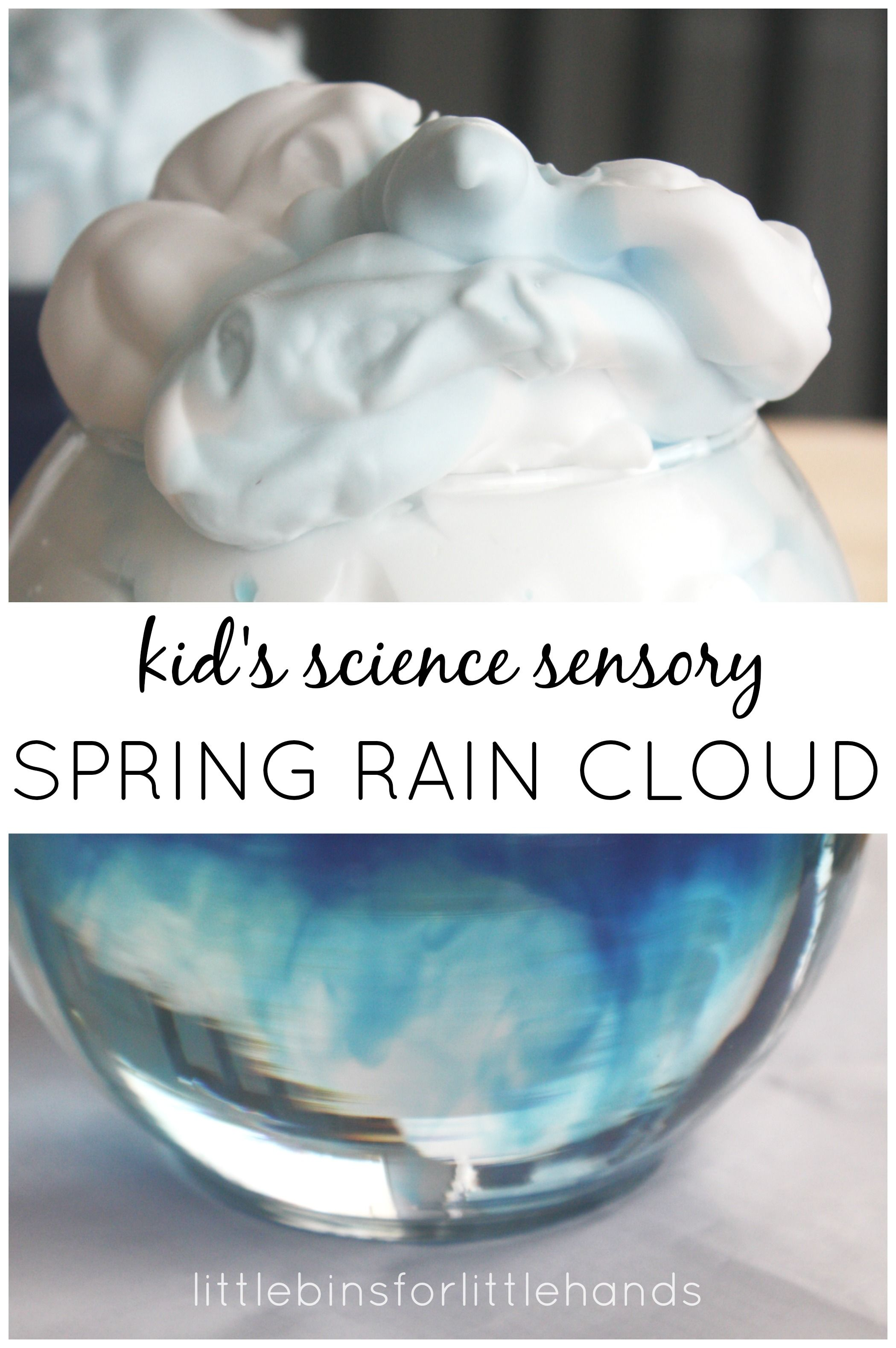 Fun Rain Cloud Activity For Kids