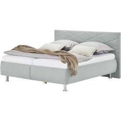 Photo of Polsterbett – grau – 200 cm – 112 cm – Betten > Doppelbetten Möbel Kraft