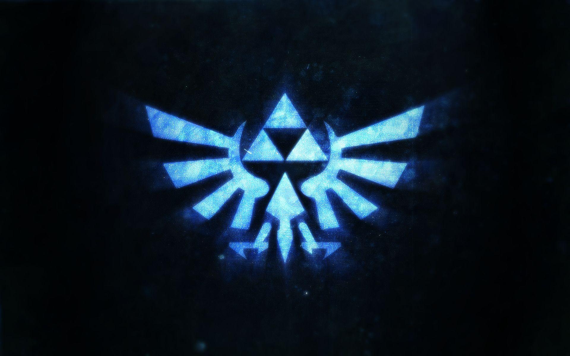 The legend of Zelda triforce.