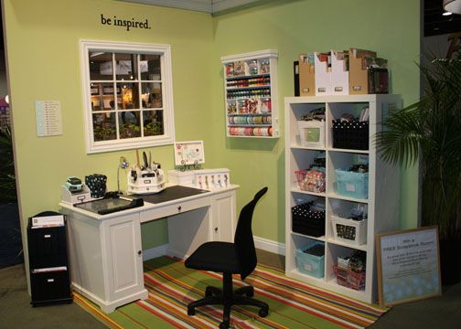 Scrapbook Area Scrapbook Room Organization Craft Room Desk Room
