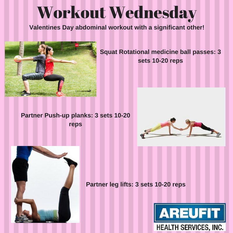 Valentines Couple Workout Wednesday Wednesday Workout Partner Workout Workout