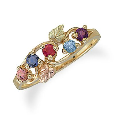 Zales Black Hills Gold Mothers Ring