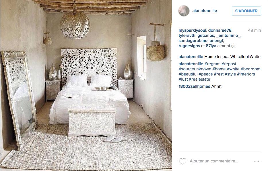 Instagram Chambre Deco Orientale Neutre Png 934 598 Pixels Archi