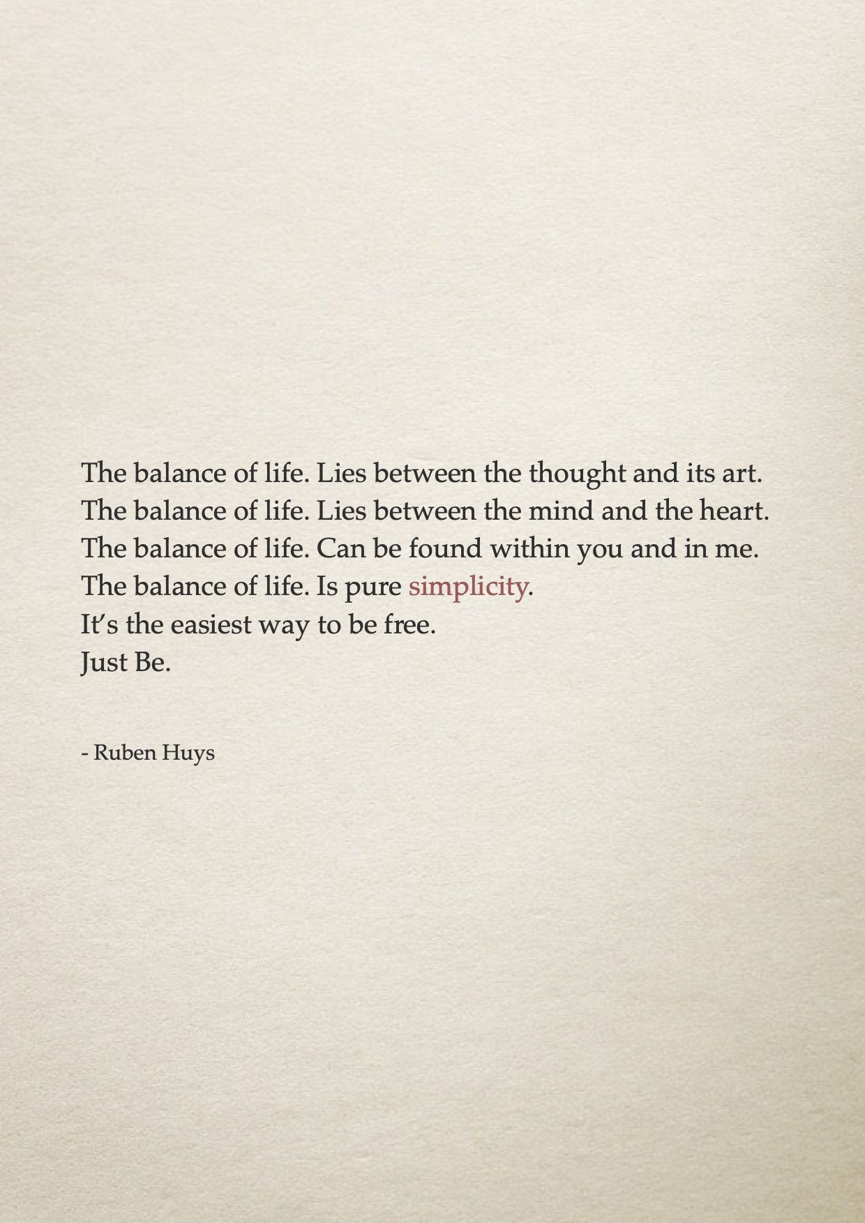 Find Your Balance And Be Free Freedom Balance Between Your Mind And Your Heart Be Simple Look Within Just Be In 2020