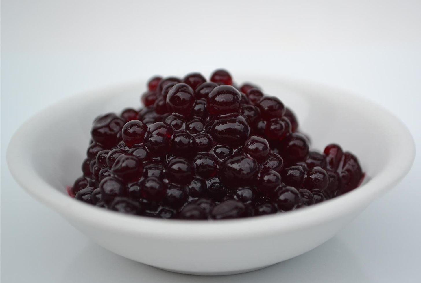 How To Make Easy Imitation Caviar At Home Boozy Cupcakes Recipes Coffee Caviar Recipe Molecular Gastronomy Recipes