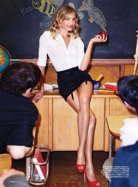 diaz maxim teacher Cameron bad