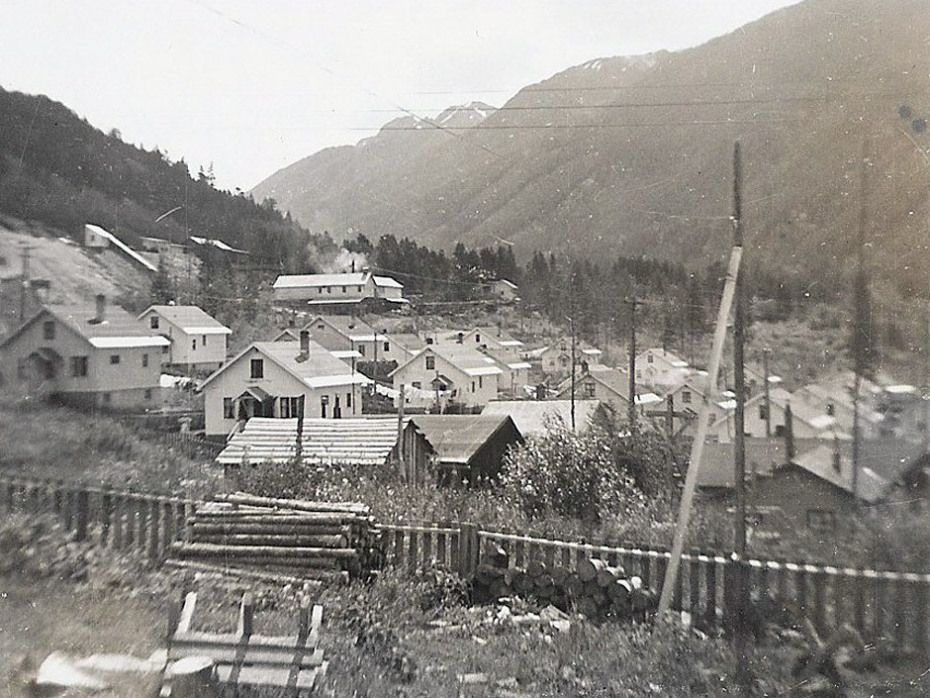 Bradian, B.C., as it appeared in August, 1954.VANCOUVER