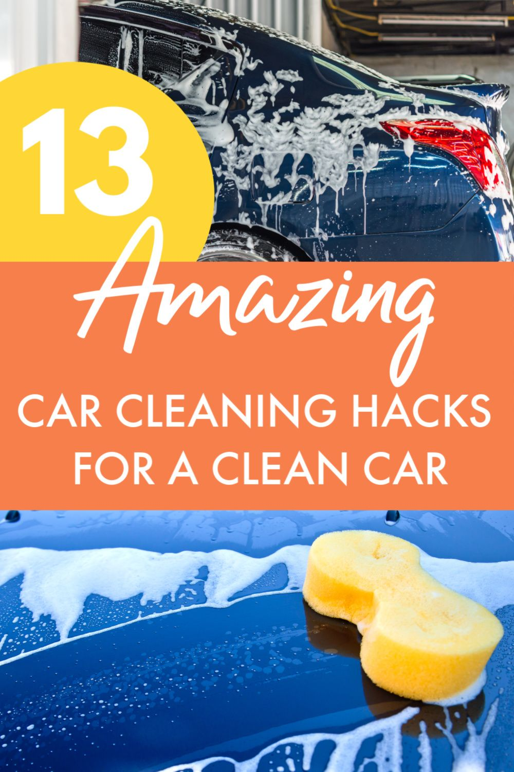 13 Amazing DIY Car Cleaning Hacks for a Clean Car