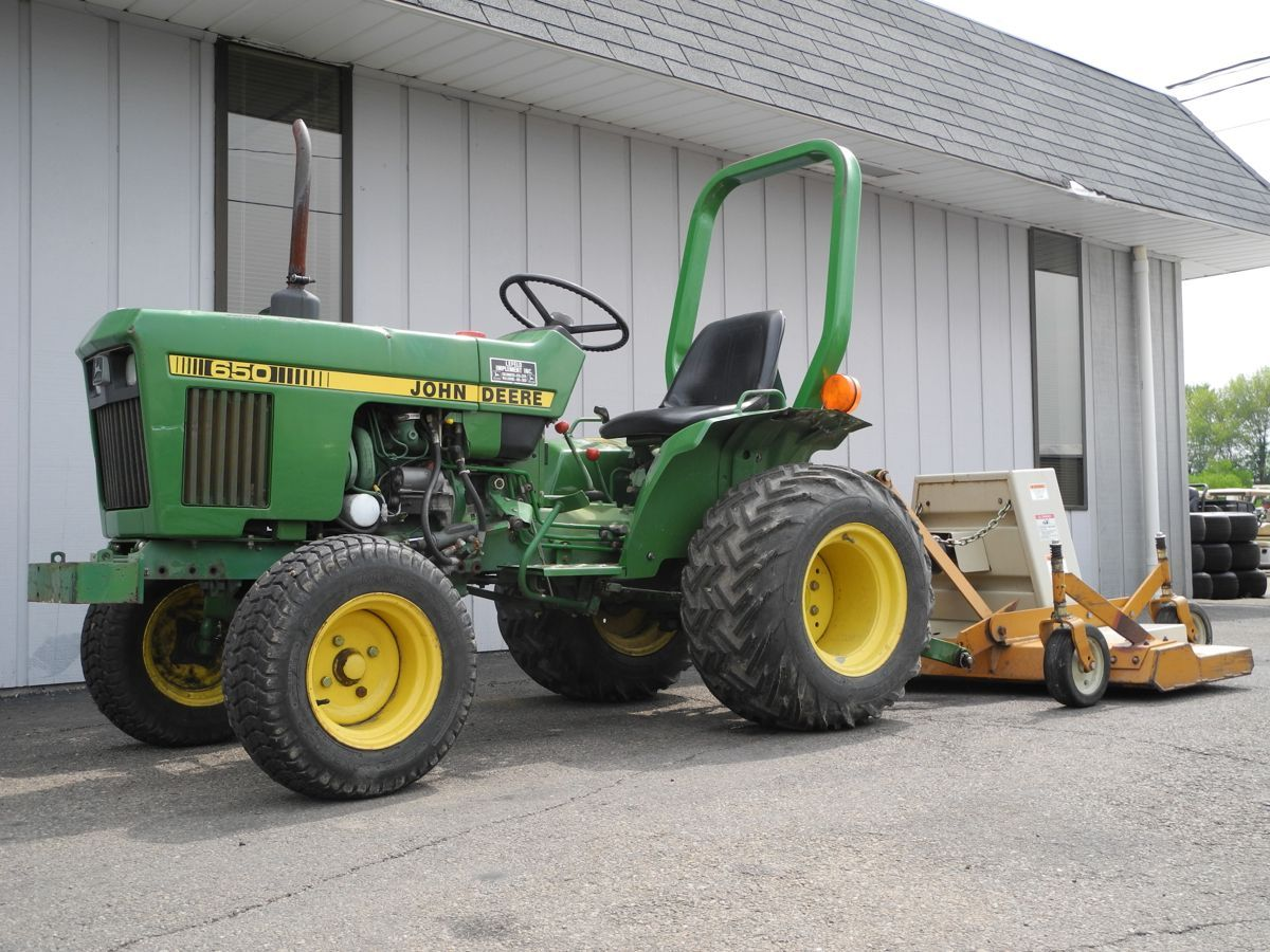 This 1984 John Deere 650 Tractor Is Powered By A Yanmar