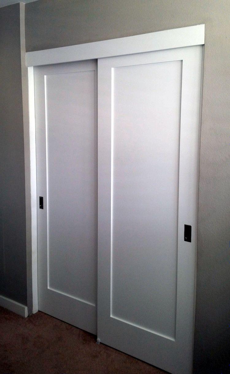 Panel Louver And Flush Doors Diy Closet Doors Closet Door