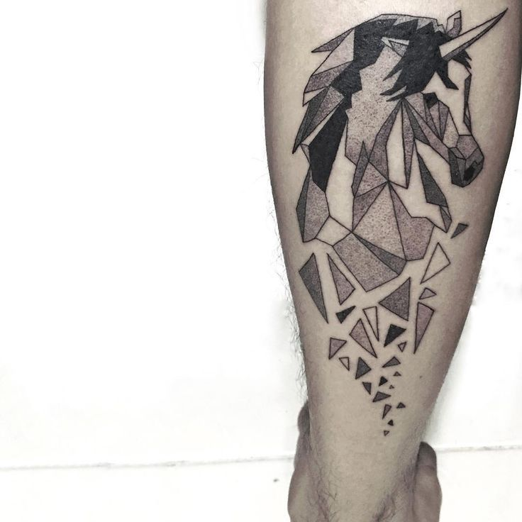 38646fa18 20 Unicorn Tattoos That'll Revive Your Imagination - Sortra ...