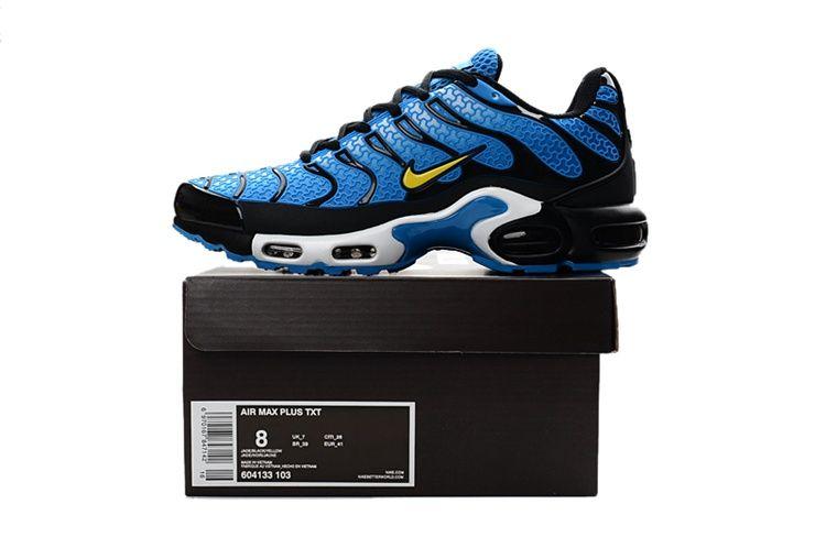 Nike Air Max TN Running Men Shoes Blue Black | Nike air max