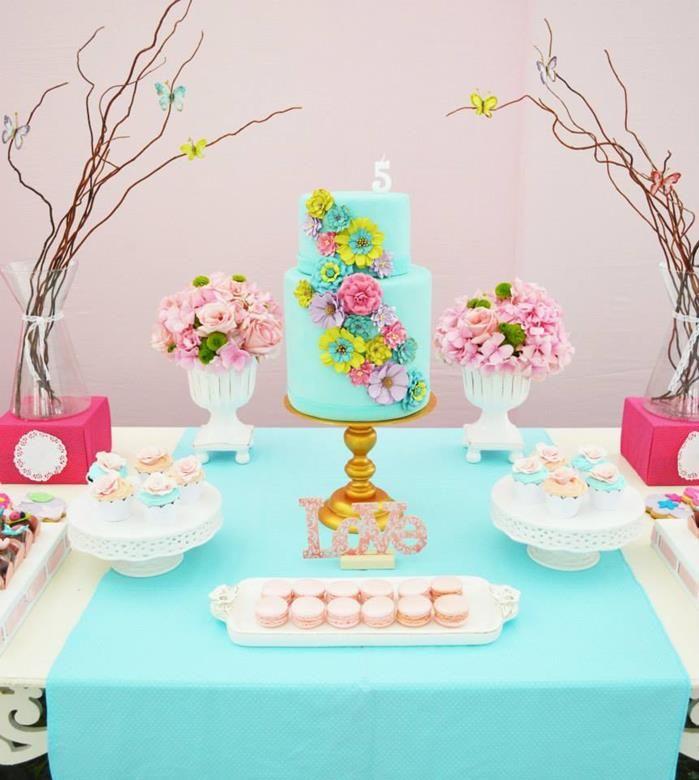 Secret Garden: Butterfly Garden Party Via Kara's Party Ideas