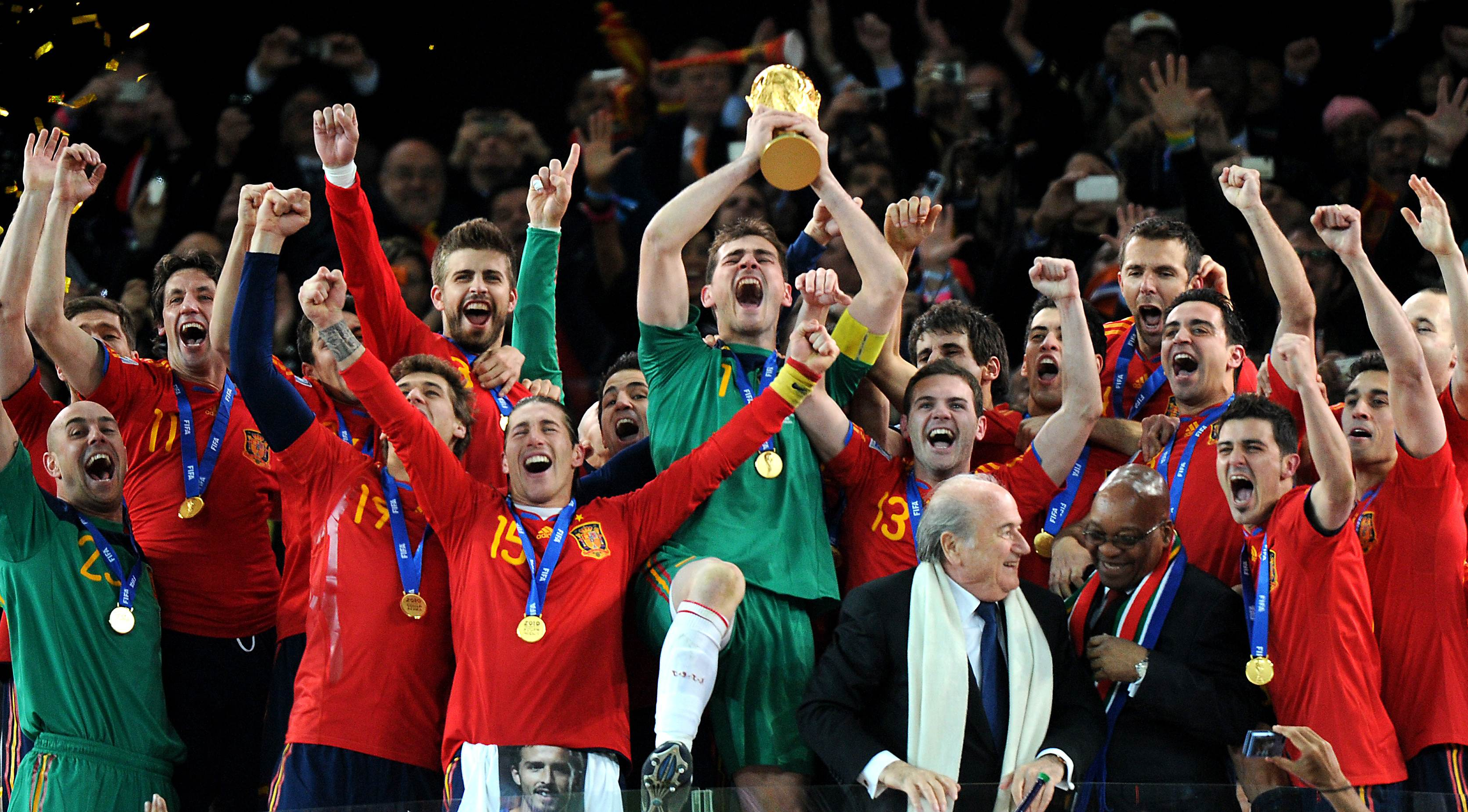 Spanish National Team World Cup Winners World Cup Champions World Cup Final