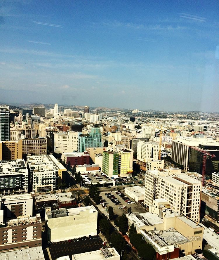 The great view from the AT&T Center Penthouse were I was