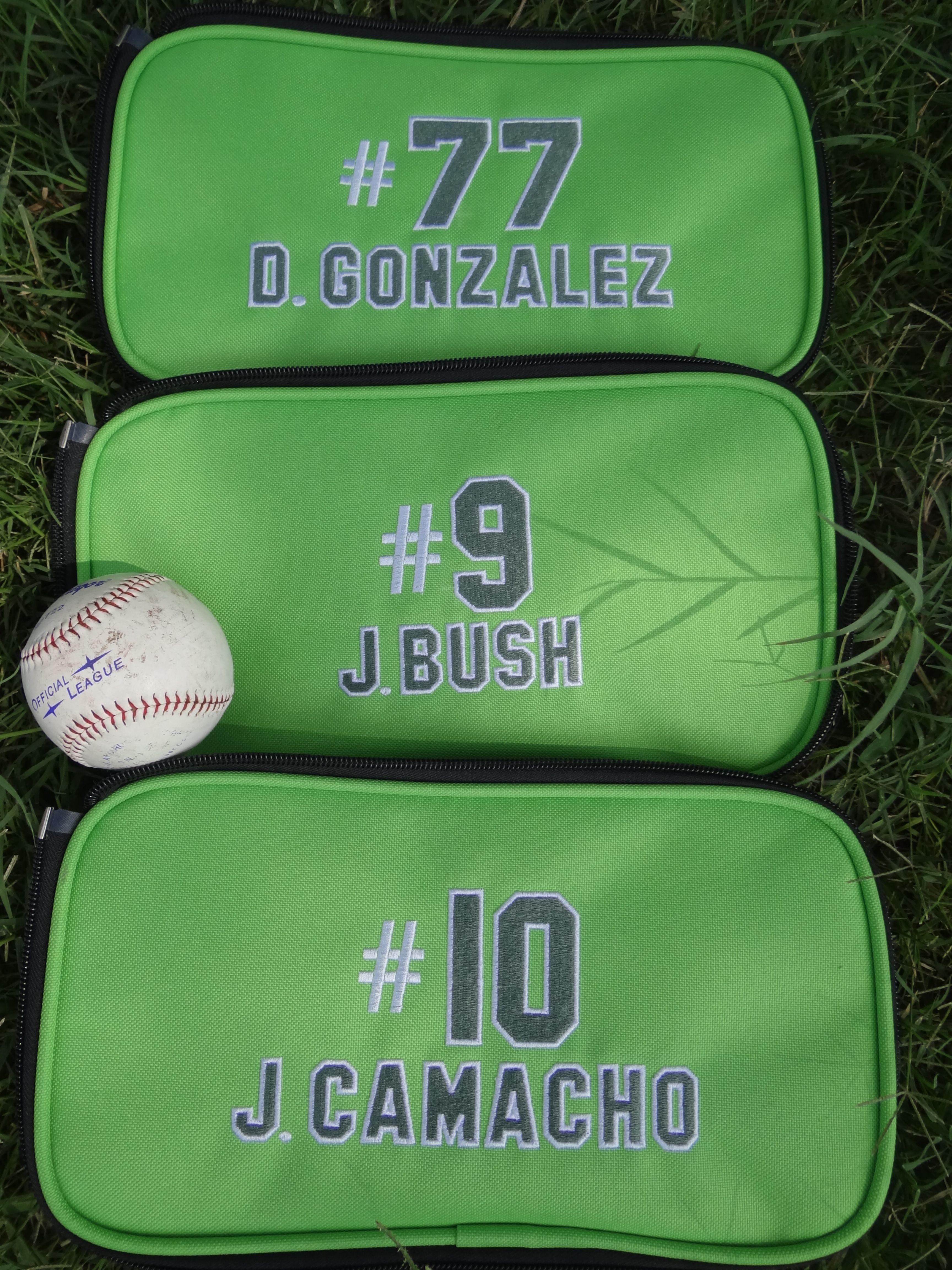 Personalized Bat Bag Attachments With Collegiate Lettering It S Baseball Season Corpus Christi Texas Custo Baseball Bag Collegiate Lettering Usa Baseball