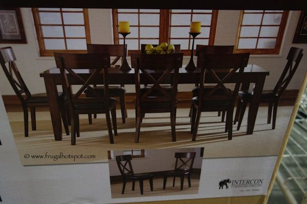 Intercon Heritage Brands Sonoma 9 Piece Dining Set. #Costco #FrugalHotspot