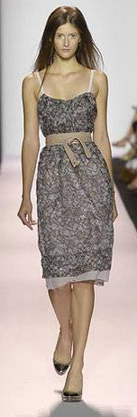 BCBG Max Azria Runway Purple/Lavender Print Dress #bcbgrunway #designer #fashion