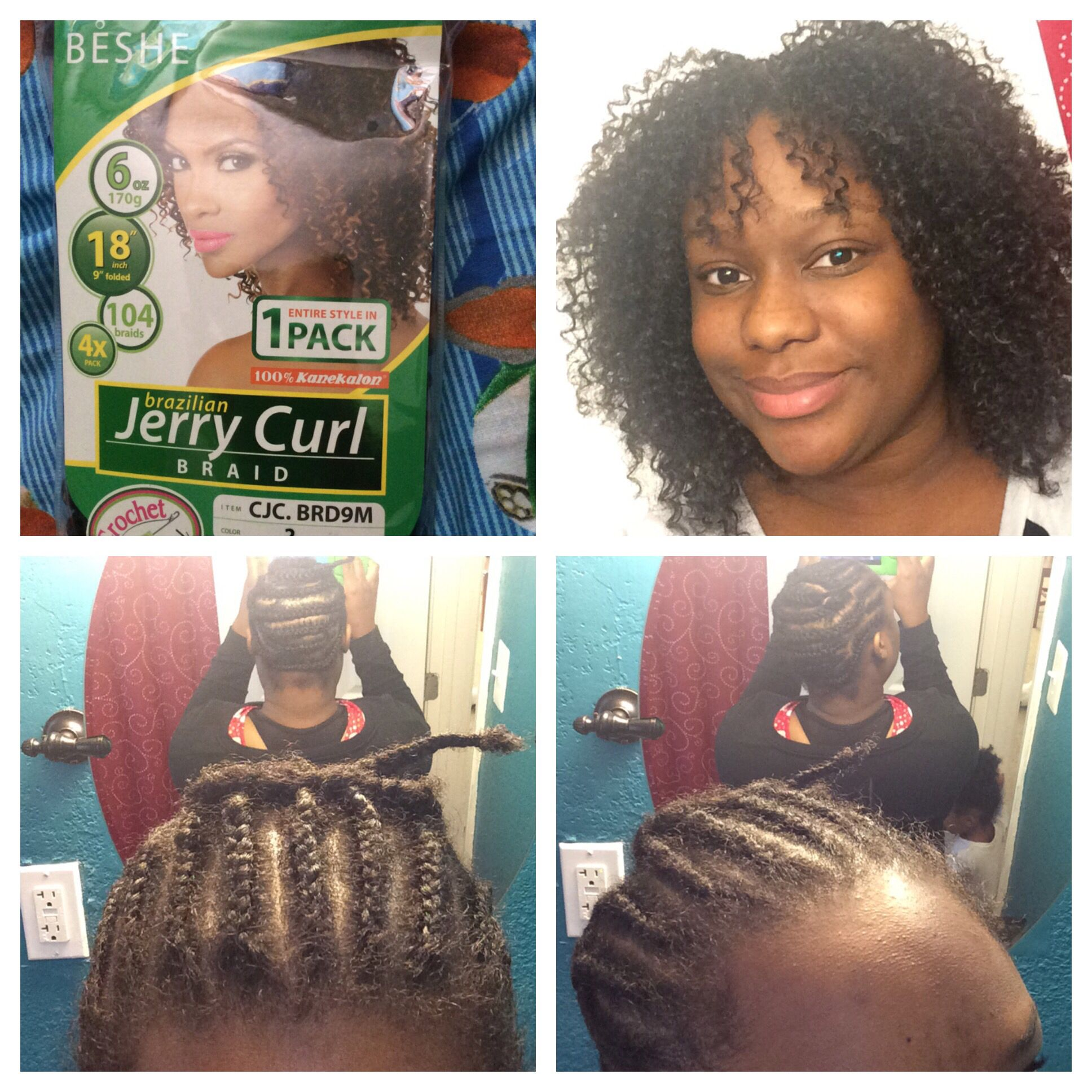 Beshe Brazilian Jerry Curl Braid One Pack Is All You Need Cost 10