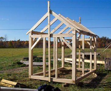 Garden Sheds 4x4 timber framed shed | timber frames | pinterest | construction