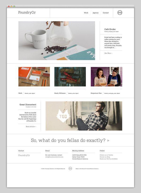 Websites We Love Designspiration Web Mobile Mise En Page Site Internet