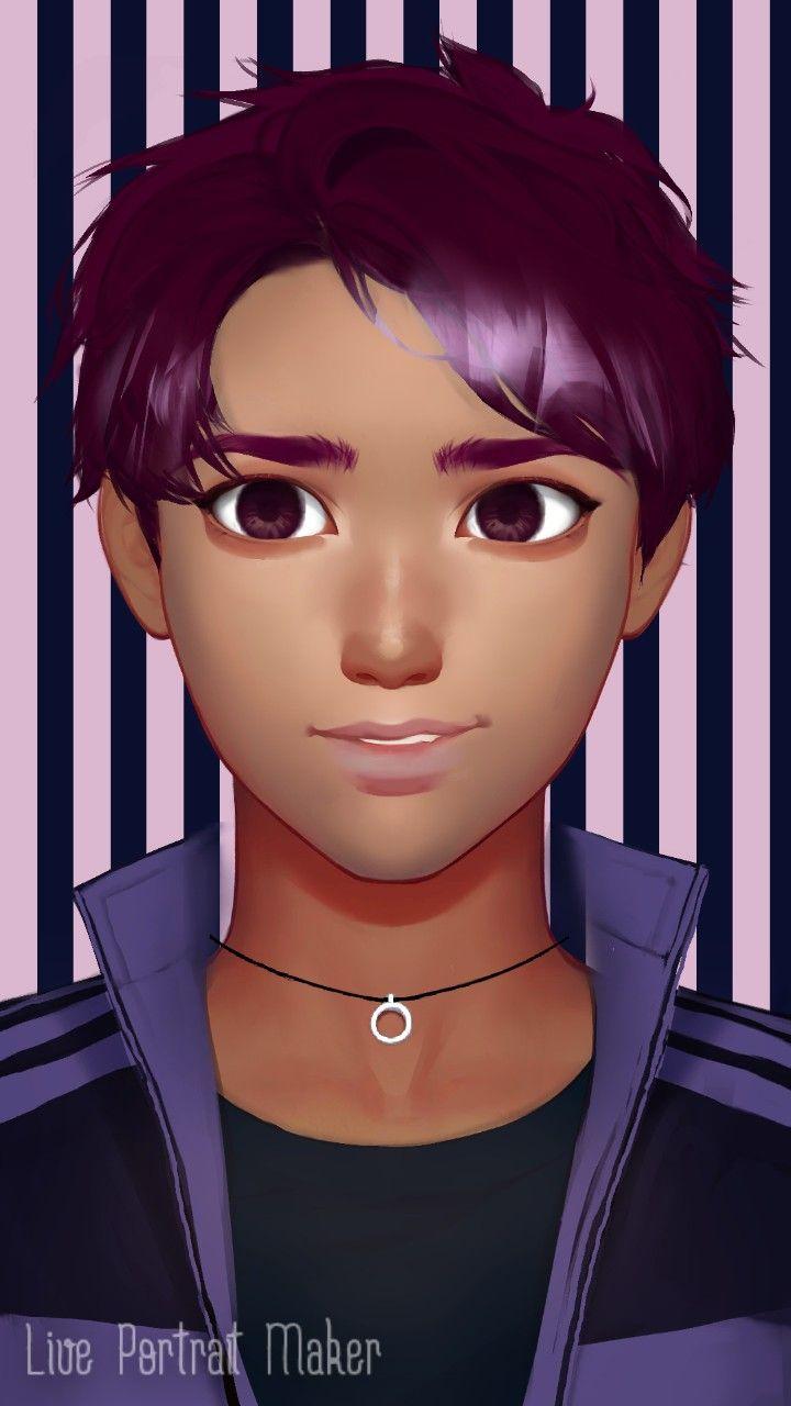 Live portrait maker gene art anime portrait
