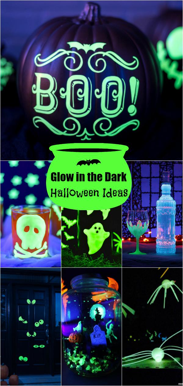 25 Creative Glow In The Dark Ideas Glow Halloween Halloween Party Kids Halloween Party
