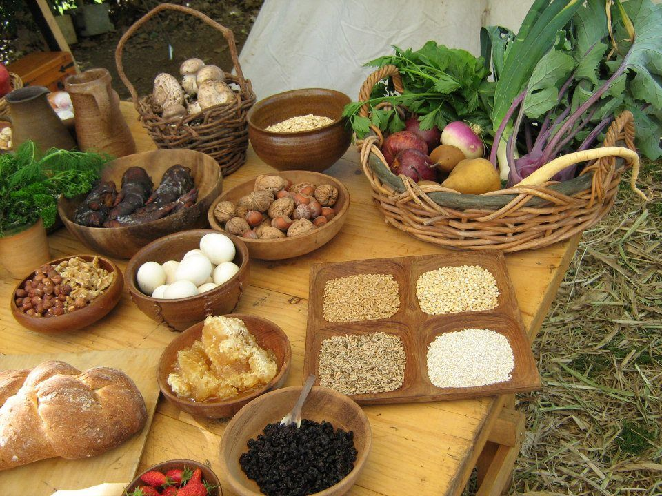Viking Food Display Viking Food And Drink Pinterest