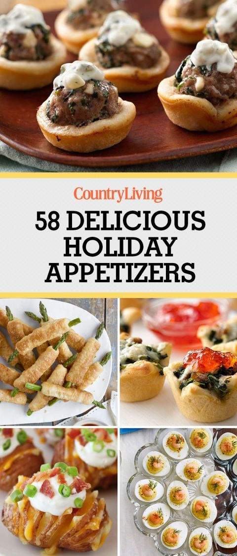 dont forget to bookmark these delicious holiday appetizers for more recipes follow countryliving on pinterest - Pinterest Christmas Appetizers