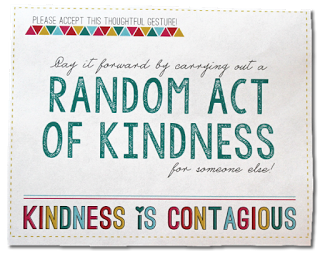 The Benefits Of Being Kind To Others Card Template Random Acts Of Kindness Inspirational Printables