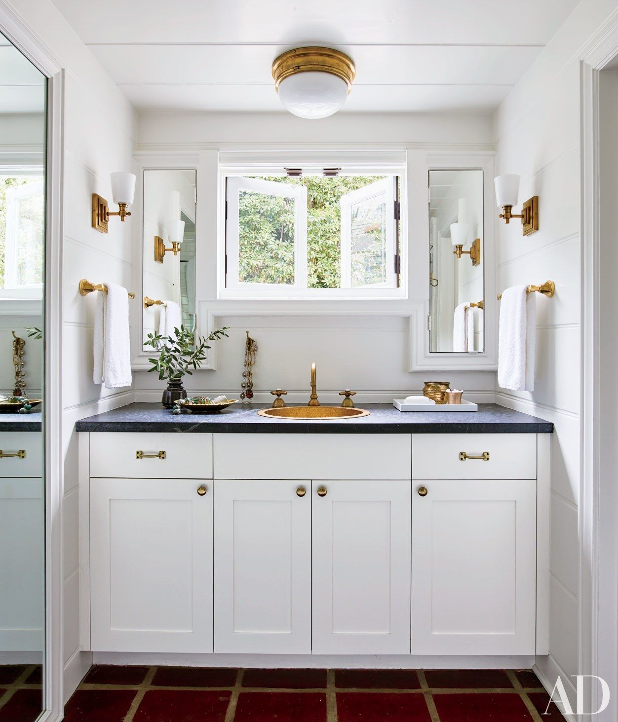 Add Shine To Any Room With Brass Accents
