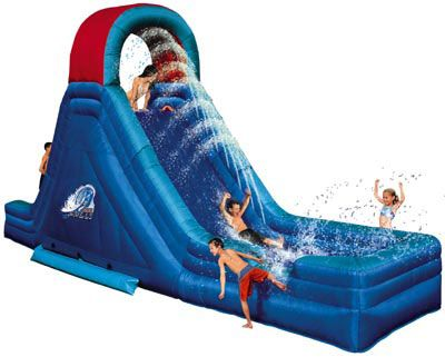 Inflatable Water Slides | ... Would You Like To Have An Inflatable Water  Slide