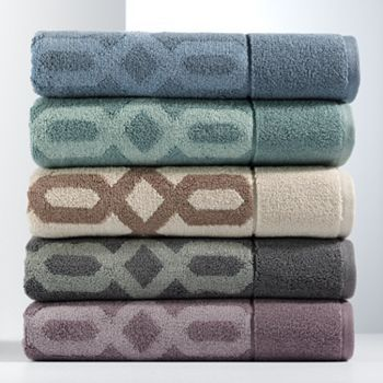 Kohls Simply Vera Very Wang Links Bath Towels Clearance 7 19 11 99 With Images Bath Towels Towel Cotton Bath Towels