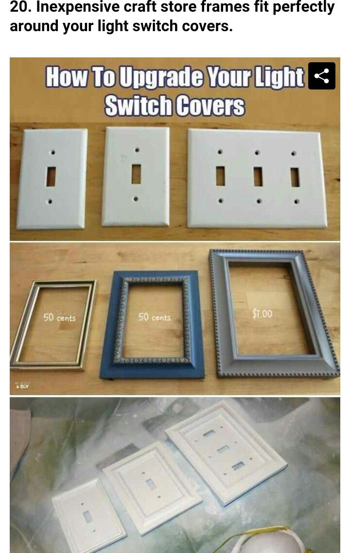 Upgrade light switch covers