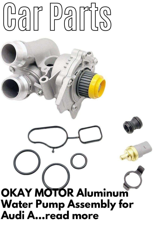 Okay Motor Aluminum Water Pump Assembly For Audi A3 A4 Tt Vw Tiguan Jetta Golf Gti Eos Beetle Cc 2 0t Tsi Water Pumps Golf Gti Gti