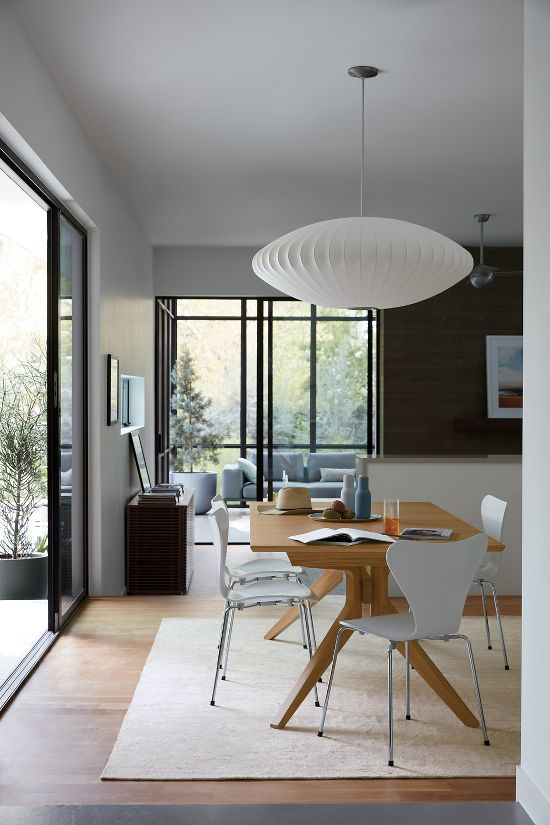 Nelson Saucer Bubble Pendant Design Within Reach In 2020 Modern Dining Room Home Decor Interior