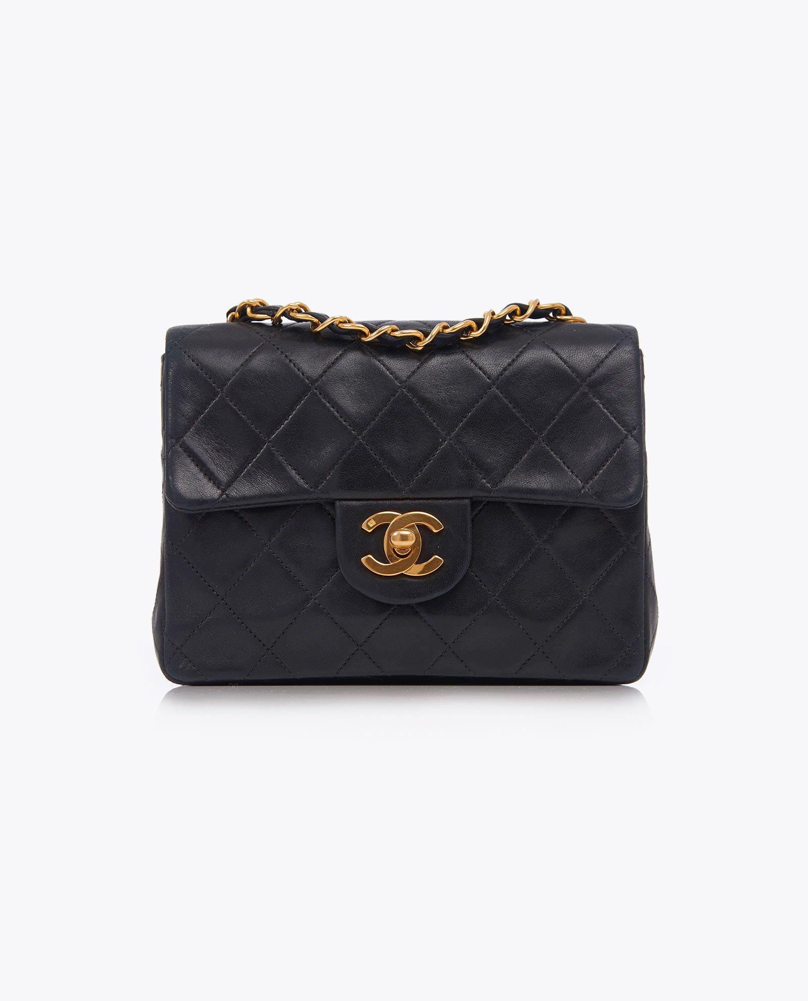 Vintage Chanel 7 Classic Flap Bag 09032015 Classic Flap Bag Vintage Chanel Bags