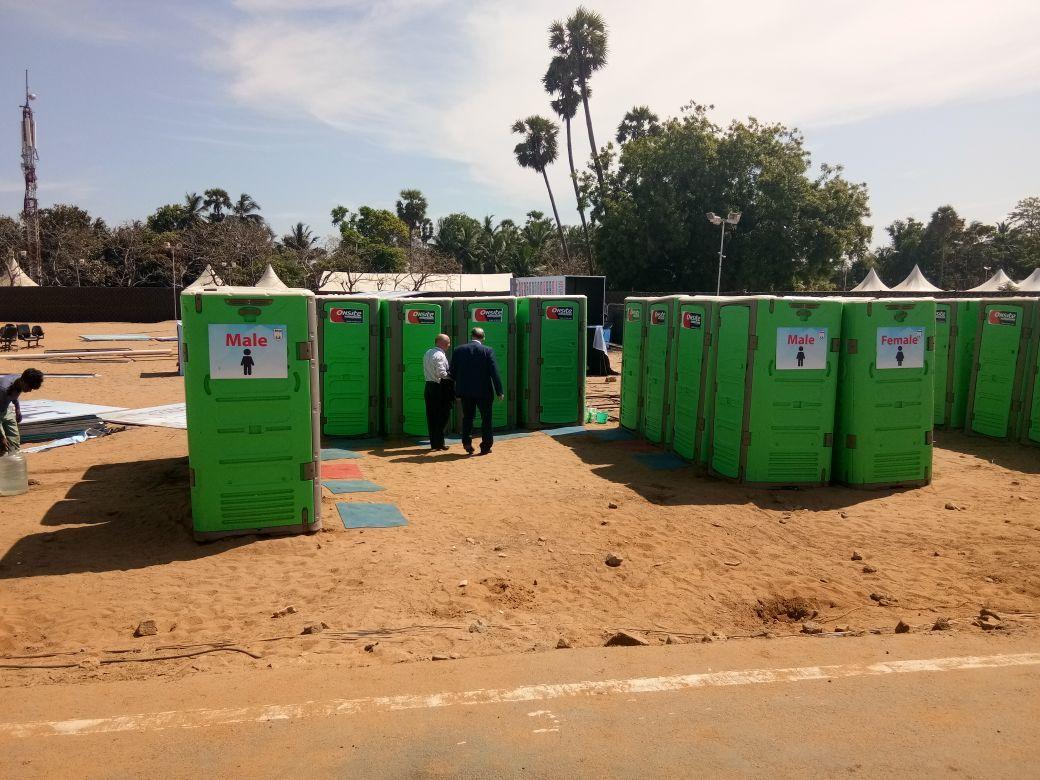Rapidloo Portable toilet, Portable cabins, Construction site