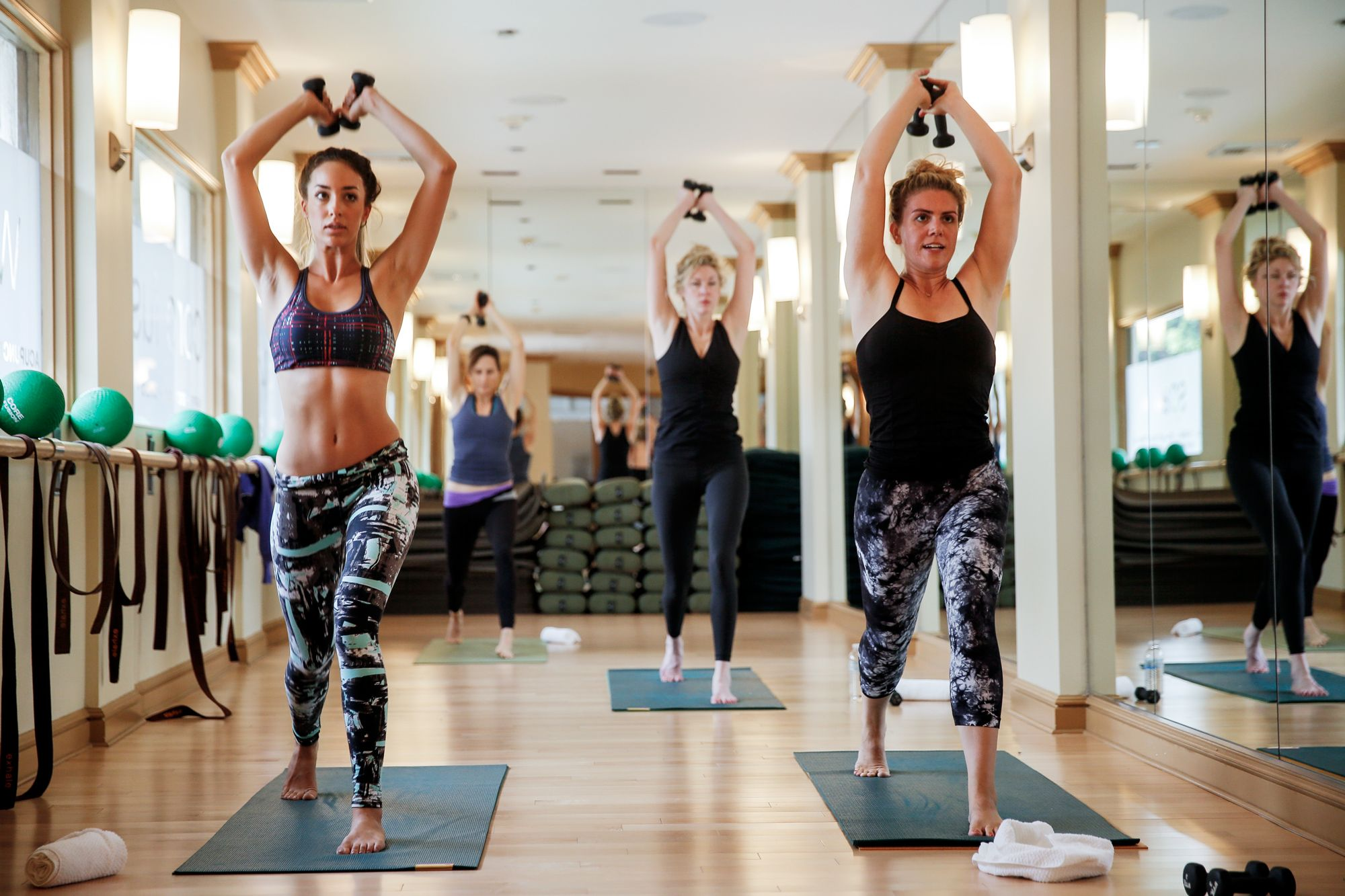 Real Talk: I Love Barre Classes So Much I Went to 5 Different Studios from InStyle.com