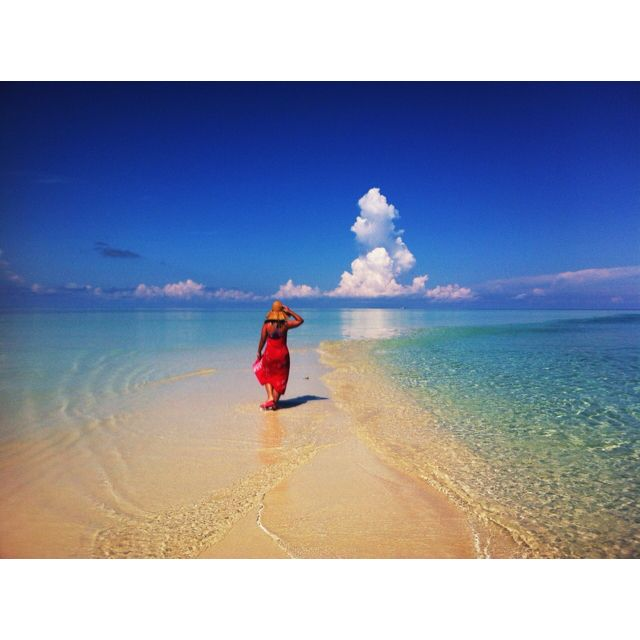Heaven on earth. Pulau Gosong. One of the islands in Derawan, East Kalimantan, Indonesia. Photo courtesy of Ajeng P Gondokusumo