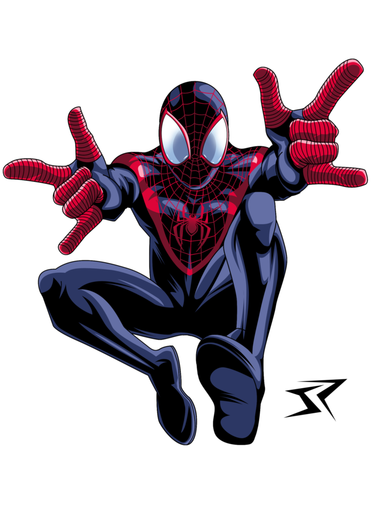 Ultimate Spiderman Miles Morales Ultimate Spiderman Spiderman Spiderman Art
