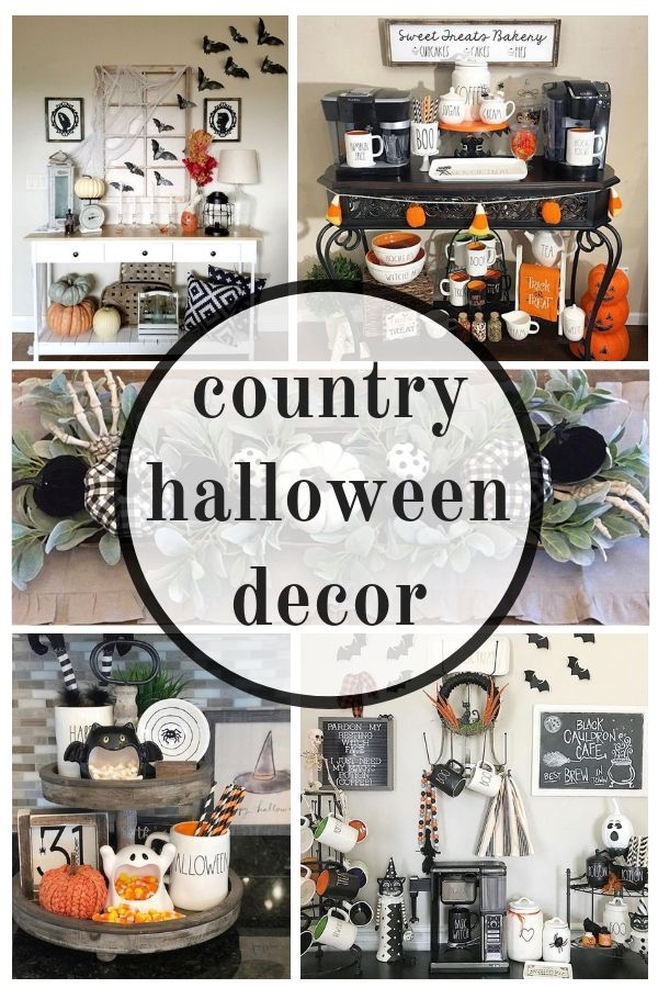 Country Halloween Decor That\u0027s Between Spooky  Spectacular All