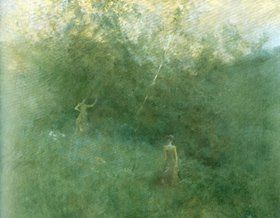 Inness Whistler Like Breath on Glass and the Art of Painting Softly
